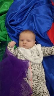 Baby sensory sheer
