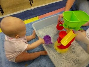 Messy play water