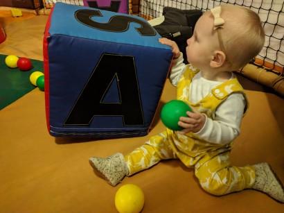 Soft play cube